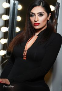 beautiful model in amazing makeover photoshoot